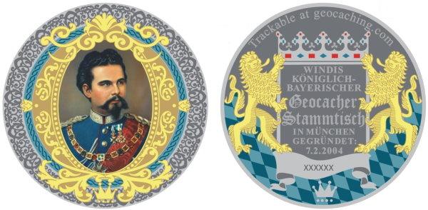Coin Vorder- und Rückseite